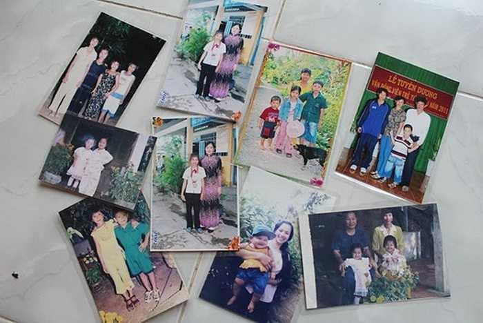 Những tấm ảnh của Ánh Viên được cha mẹ lưu giữ rất cẩn thận