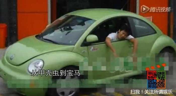 Sau đó Lý Thần 'lên đời' với các dòng xe thể thao từ Volkswagen Beetleđến BMW 325i rồi sang Mercedes-Benz E-class.