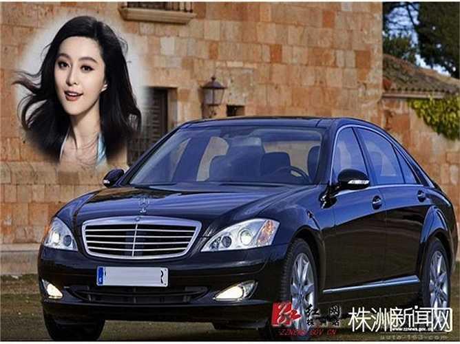 Phạm Băng Băng còn sở hữu một chiếc Mercedes-Benz S600 được mệnh danh là 'pháo đài bốn bánh', có giá 2,3 triệu NDT (8,3 tỉ đồng)
