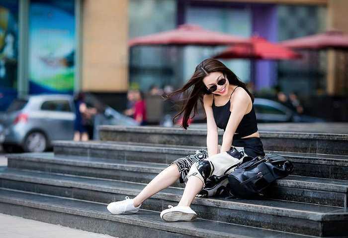 Trà Ngọc Hằng và phong cách thời trang ngày càng được đánh giá cao.