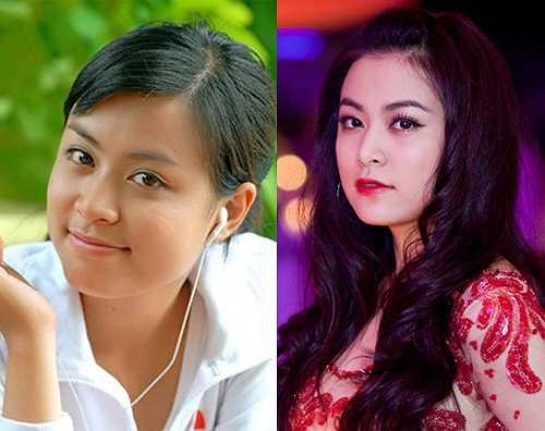 Ngày nay, vẻ đẹp của mỹ nữ họ Hoàng được hoàn thiện nhờ làn da trắng, lối trang điểm phù hợp.