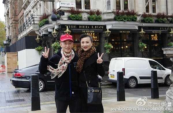 Vu Hồng luôn theo Lục Tiểu Linh Đồng trong từng chuyến đi của anh. Con gái của cặp đôi chào đời vào tháng 11/1990.