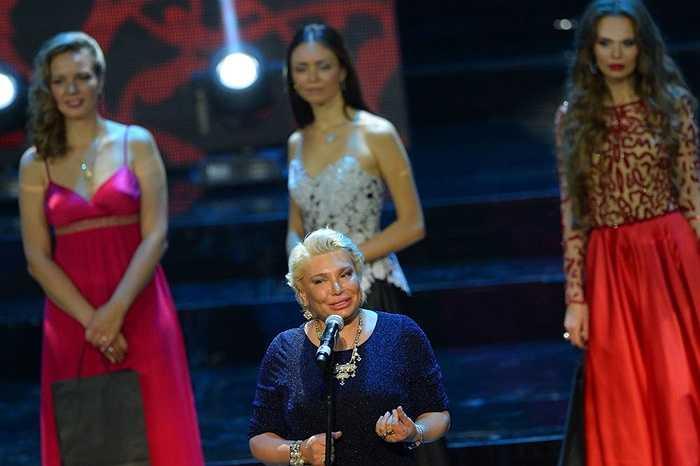 Bà Tatiana Andreeva Giám đốc cuộc thi Hoa hậu Matxcơva 2015
