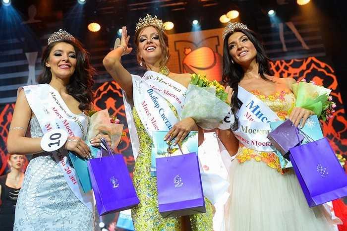 Những người đẹp đăng quang trong vòng chung kết cuộc thi