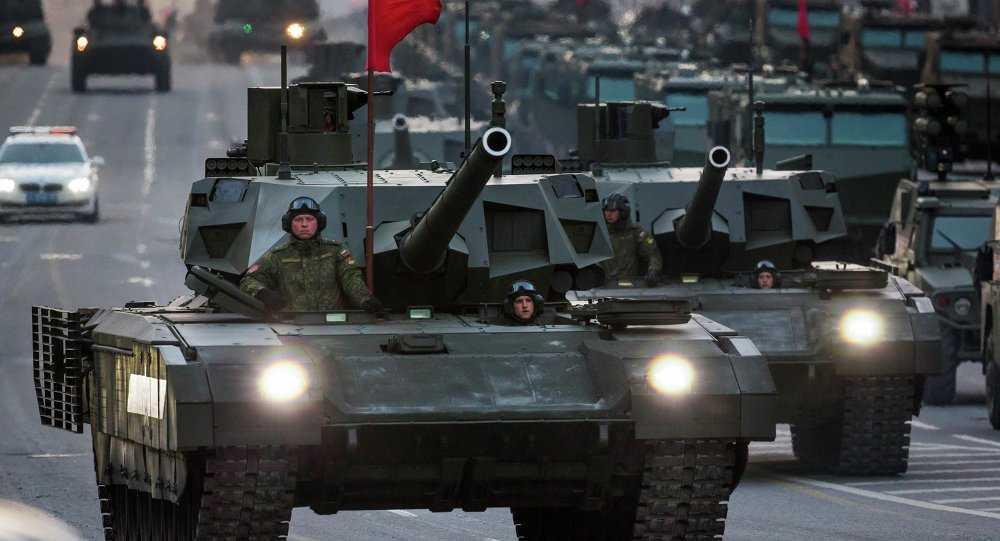 Siêu tăng Armata trong lễ duyệt binh ngày 9/5 vừa qua