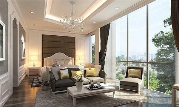 Căn hộ siêu cao cấp của Thu Minh có lối đi được thiết kế riêng biệt. Thậm chí, căn hộ này hiện đại đến mức Thu Minh có thể ngồi tại nhà và mua sắm ở trung tâm thương mại cao cấp ở tầng dưới bằng cách nhấn vào màn hình và lựa chọn.