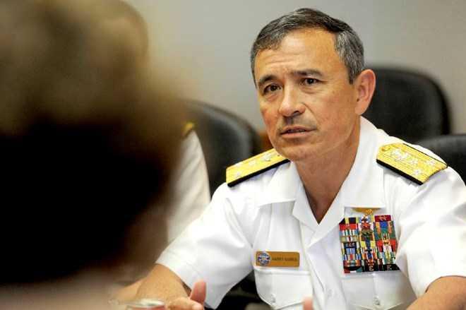 Tư lệnh Bộ chỉ huy Thái Bình Dương của Mỹ (PACOM) Harry Harris