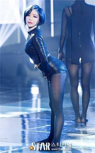 Trước đó, Ga In từng diện bộ trang phục tương tự trên sân khấu.