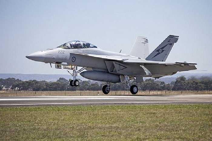 F/A-18E/F Super Hornet là một phiên bản cải tiến nâng cao từ F/A-18, được thiết kế để bổ xung chức năng cho Hornet trong Hải quân Mỹ