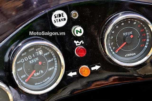 Xem thêm ảnh chiếc xe độ độc lạ của dân chơi Sài Gòn.