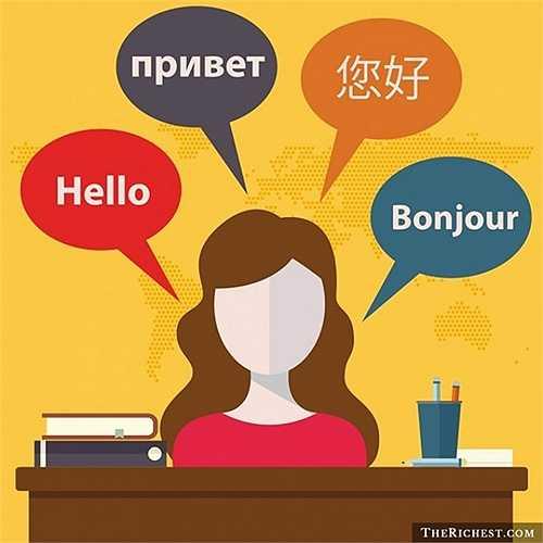 Thành thạo hai thứ tiếng là điều ít người làm được. Những người có khả năng này không chỉ có sự nghiệp rộng mở mà còn có cơ hội đi du lịch nhiều nơi.