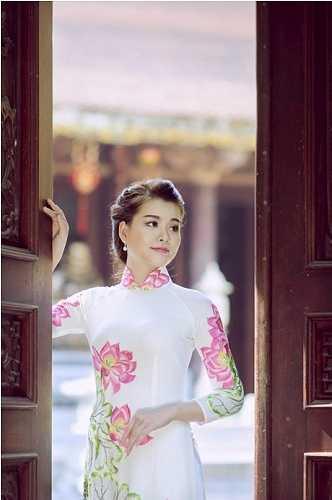 Nữ sinh xinh đẹp này là Lê Khánh Linh.