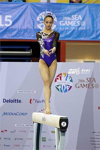 Bên cạnh những lời chỉ trích, Abdul Hadi cũng nhận được khá nhiều sự ủng hộ và chúc mừng chiến thắng của cô tại SEA Games 28. Những người hay cũng cho biết họ rất từ hào về màn trình diễn của cô. (Ảnh: Phạm Thành)