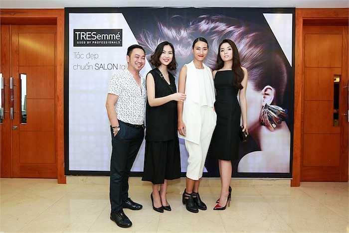 Đội ngũ Hair Stylista gồm Hoa hậu Nguyễn Cao Kỳ Duyên, người mẫu Trang Khiếu, fashionista Helly Tống và nhà tạo mẫu tóc Trần Mạnh Thìn.