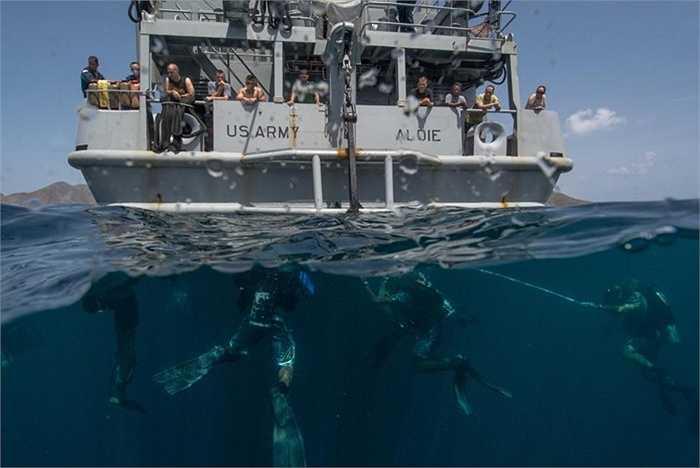 Tàu hải quân Mỹ tham gia vào cuộc tập trận đa quốc gia ở vùng biển Trung Mỹ