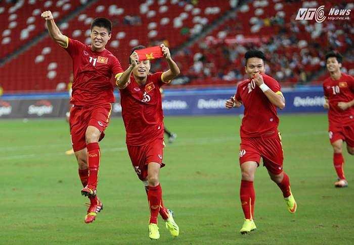 Niềm vui của các cầu thủ U23. Chúng ta đã có một hiệp đấu tưng bừng, hiệu quả.