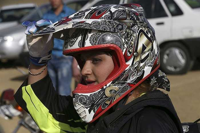 Tay đua nữ Behnaz Shafiei ở Iran