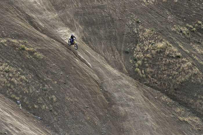 Shafiei trong một pha đổ dốc