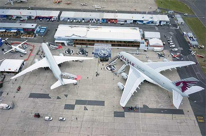 Hai chiếc Airbus A380 sẽ được bàn giao cho hãng hàng không Qatar Airways
