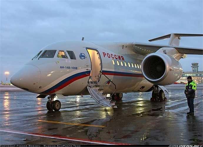 Máy bay chở khách thương mại tầm ngắn An-148 do Antonov ASTC thiết kế và được sản xuất bởi Nhà máy hàng không Kiev (AVIANT) cùng Liên hợp sản xuất máy bay Voronezh (Nga).