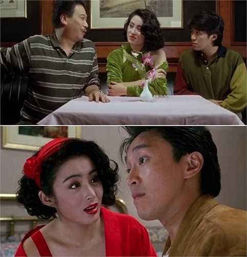 Cô đặc biệt gây chú ý khi xuất hiện trong các bộ phim cùng Châu Tinh Trì.