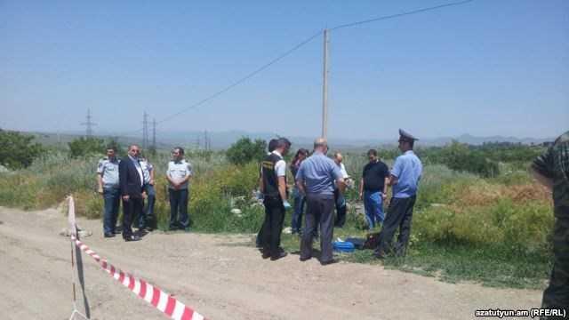 Hiện trường nơi thi thể quân nhân Nga Ivan Novikov được phát hiện