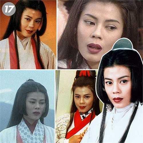 'Nhậm Doanh Doanh' Lương Bội Linh trở thành tín đồ đạo giáo:  Cô là tên tuổi rất được chú ý trên màn ảnh nhỏ Hong Kong từ những năm 1980. Cùng thời với những tên tuổi như Thái Thiếu Phân, Lương Tiểu Băng, Viên Vịnh Nghi, cô có chỗ đứng vững chắc qua từng vai diễn. Với vai 'Thánh cô' si tình Nhậm Doanh Doanh, Lương Bội Linh khiến nhiều người thổn thức.