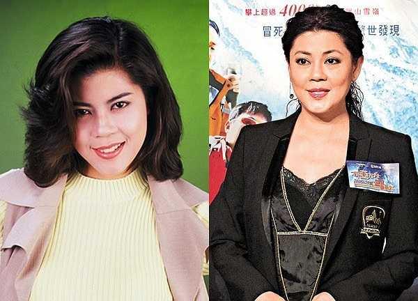 Năm 2000, người đẹp rời TVB, rút lui khỏi làng giải trí Hong Kong và trở thành nhà truyền giáo. Vóc dáng của cô giờ đã không còn như xưa. Cô hạn chế xuất hiện trước truyền thông. (Ảnh ngày ấy và bây giờ)