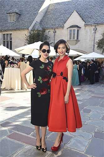Thu Phương cũng có mặt, nữ ca sỹ đọ sắc cùng Ngô Thanh Vân.