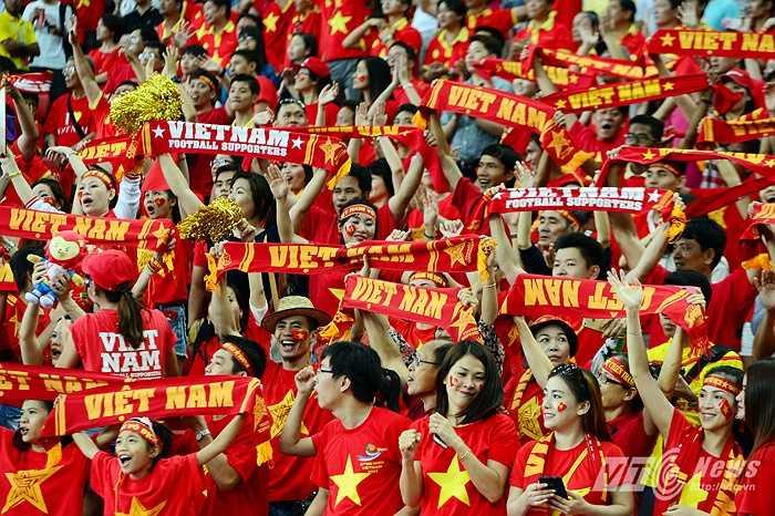 Dù niềm vui không thực sự trọn vẹn nhưng các cầu thủ U23 Việt Nam đã không buông xuôi. (Ảnh: Hà Thành)