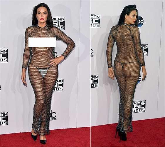 Bleona Qereti bị truyền thông quốc tế chỉ trích là quá lố trong lễ trao giải Âm nhạc Mỹ (American Music Awards) 2014.