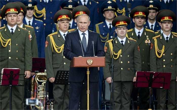 Ông Putin phát biểu khai mạc triển lãm