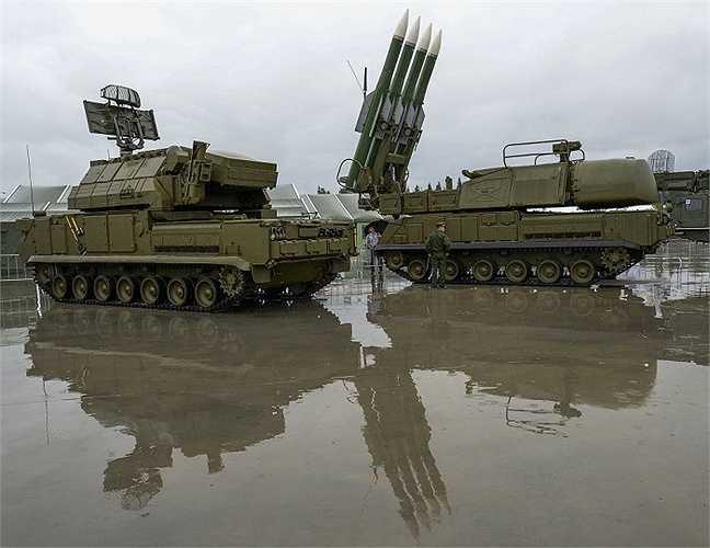 Hệ thống tên lửa Buk-1M