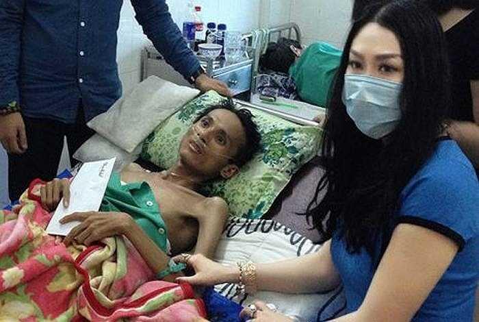 Trong suốt 3 tháng điều trị bệnh, Thái Lan Viên phải chịu những cơn đau đớn. Cuối cùng, bệnh viện đã trả anh về nhà vì phổi bị chai và teo, tạo ổ cặn và phổi đã bị hủy hoại 95%.