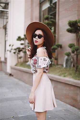 Lưu Hương Giang ngày càng sành điệu.