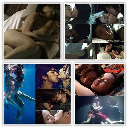 'Ma nữ họ Phạm' cũng sở hữu nhiều cảnh nóng trong phim.