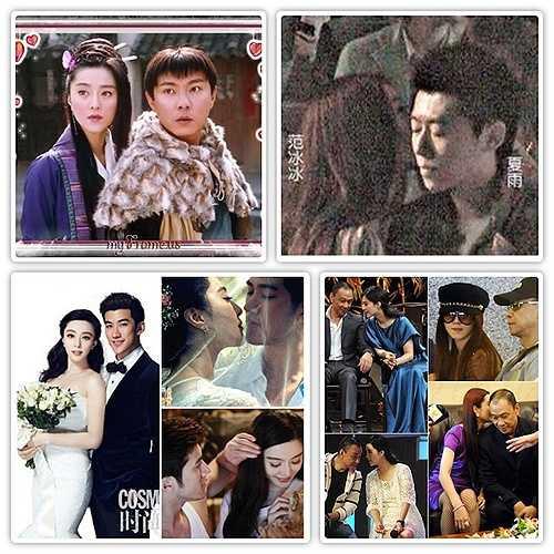 Nhiều nam diễn viên và tài tử nổi tiếng cũng nằm trong danh sách những người tình của cô nàng như Trương Vệ Kiện, Hạ Vũ, Lý Trị Đình, Vương Học Kỳ, ...