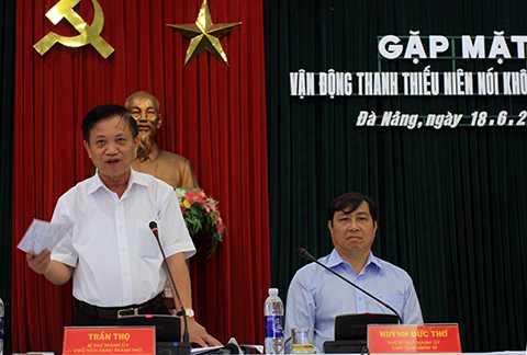 Bí thư, Đà Nẵng, Trần Thọ, nói chuyện, thế hệ trẻ, nghiện ma túy