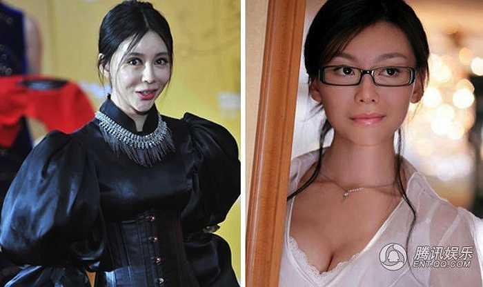 Củng Tân Lượng từng nổi tiếng với vai cô nàng thư ký Miu Miu xinh đẹp trong Phi thành vật nhiễu. Hiện tại nữ diễn viên khiến khán giả hốt hoảng với chiếc cằm nhọn khá 'dị'.