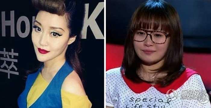 Nữ ca sỹ Từ Hải Tinh từng gây tranh cãi tại The Voice Trung Quốc mùa đầu vốn sở hữu gương mặt trọn trịa thì nay đã xuất hiện với diện mạo hoàn toàn mới, đặc biệt chiếc cằm nhọn quá mức cho phép.