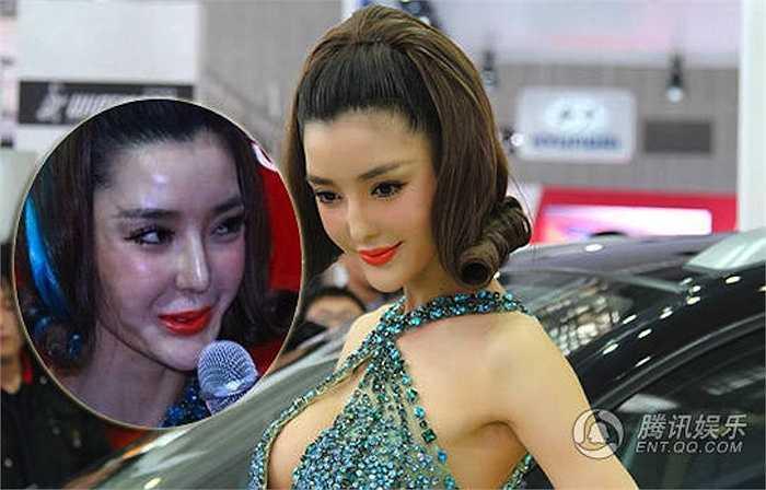 Người mẫu xe hơi kiêm nữ diễn viên Lý Dĩnh Chi từng khiến nhiều phái mạnh mê mẩn trước vẻ đẹp lộng lẫy, kiêu sa thì nay lại làm công chúng thất vọng với gương mặt phẫu thuật thẩm mỹ quá tay.