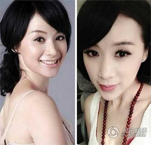 Gương mặt có phần tròn đầy của nữ diễn viên Diêu Thiên Vũ đã trở nên nhọn đến ngạc nhiên sau một thời gian cô nàng vắng bóng.