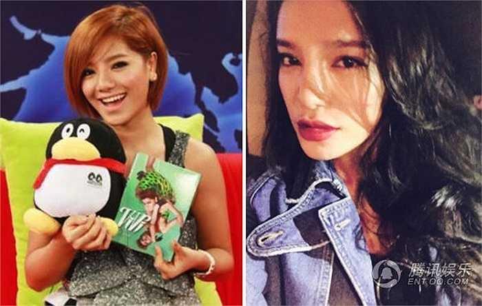 Quán quân giọng hát Super Girls 2009 Giang Ánh Dung mới đây chia sẻ diện mạo mới thay đổi đầy kinh ngạc của cô, chiếc cằm nhọn và dài hơn hẳn so với hình ảnh cô trước đây.