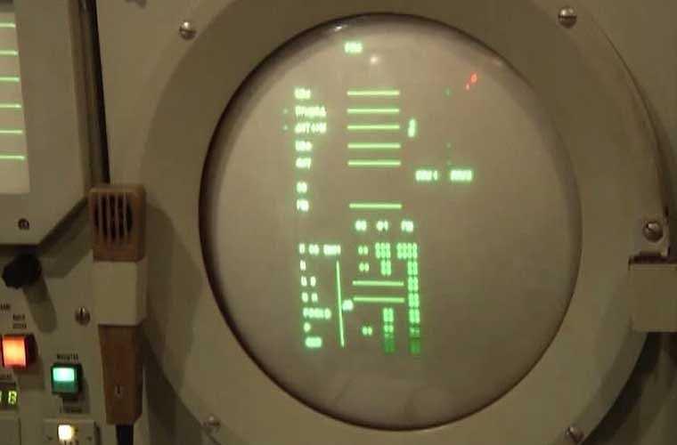 Màn hình hiện sóng đài điều khiển S-300PMU1.