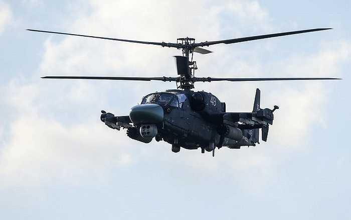 Trực thăng Ka-52 trong buổi trình diễn