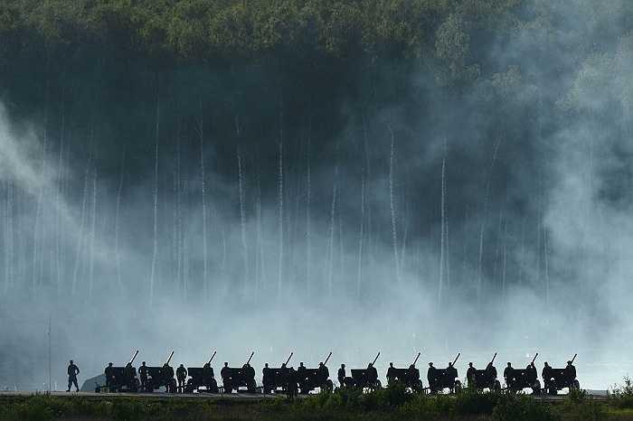 Đội pháo binh của quân đội Nga