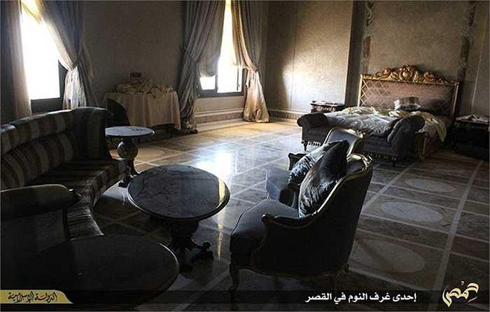Đội quân thủ lĩnh IS cũng tuyên bố rằng ngôi biệt thự này đã bị bỏ hoang do gia tộc Qatar ở đây đã tháo chạy sau khi IS chiếm đóng Palmyra.