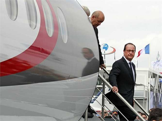 Tổng thống Pháp Francois Hollande cũng đã tới tham dự vào lễ hội này.