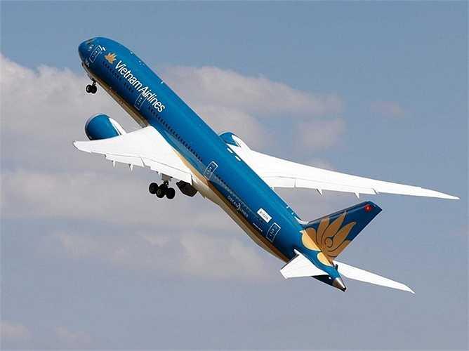 'Giấc mơ bay' Boeing 787 của Vietnam Airlines gây ấn tượng 'không thể tin nổi' với khả năng cất cánh gần như thẳng đứng của mình.