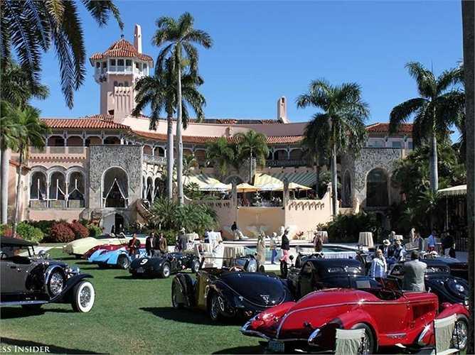 Năm 1985, tỷ phú Donald Trump đã chi 10 triệu USD mua khối bất động sản ở Palm Beach
